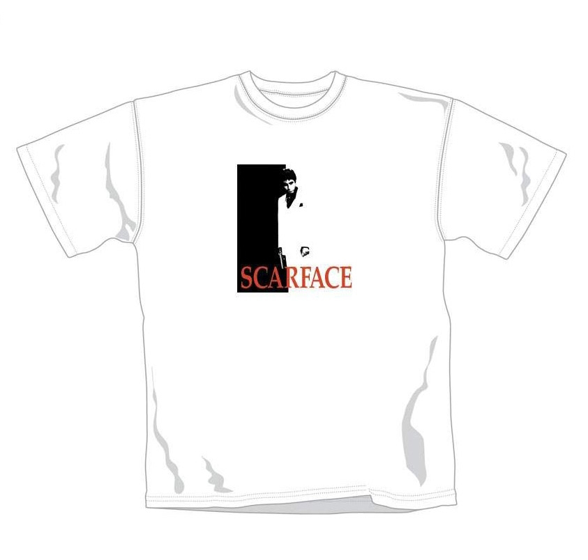 Scarface Onesheet White T-Shirt